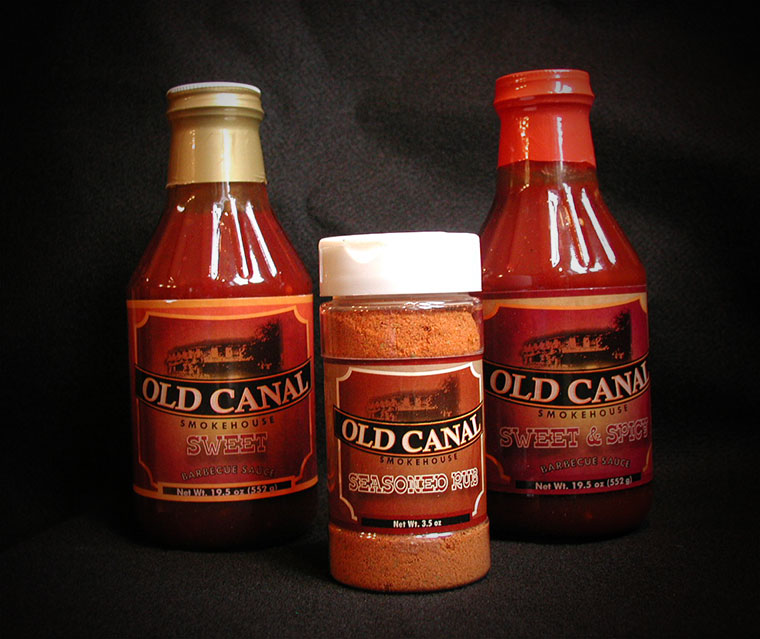 Old Canal Barbeque Sauces and Rub